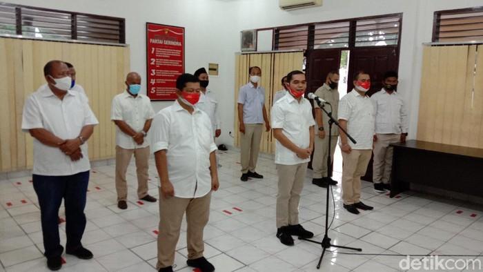 Ihwan Ritonga resmi dilantik menjadi Ketua DPC Gerindra Kota Medan