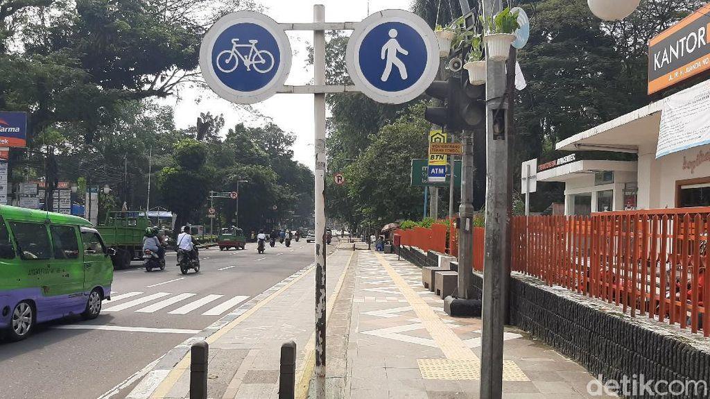 Jalur Sepeda di Kota Bogor Akan Diperluas