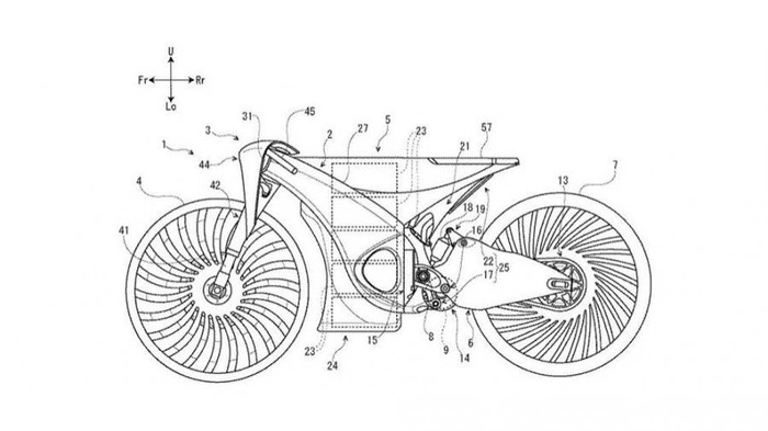 Suzuki patenkan rancangan motor listriknya