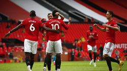 Video Gol-gol MU Benamkan Bournemouth 5-2 di Old Trafford