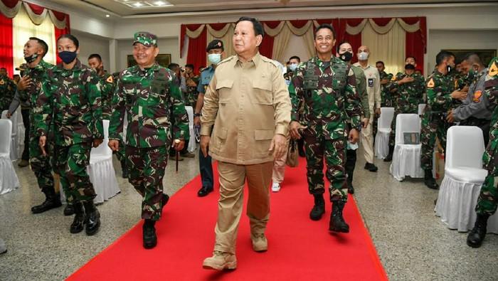 Menhan Prabowo Subianto kunjungan kerja ke Akmil Magelang