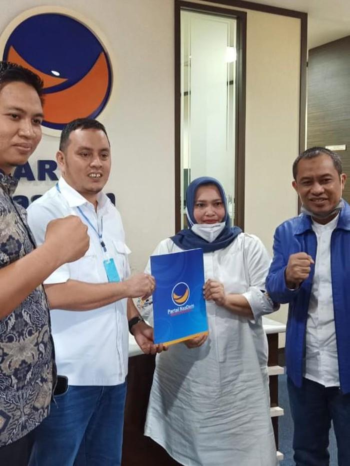 NasDem dukung Kasmarni, istri Amril Mukminin, Bupati nonaktif Bengkalis di Riau yang tersandung kasus korupsi di KPK (dok. Istimewa)