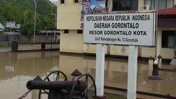 Polres Gorontalo Kota Kebanjiran, 31 Tahanan Dipindahkan
