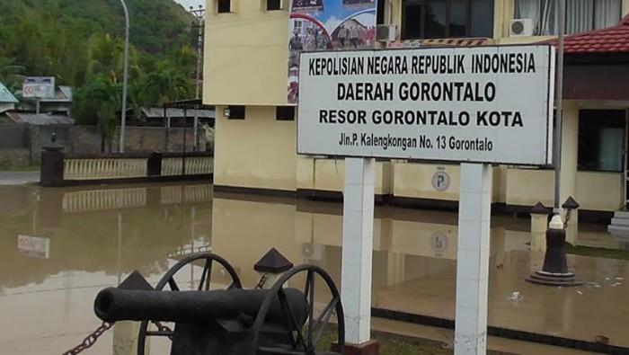 Polres Gorontalo Kota Kebanjiran