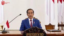 Video Jokowi Targetkan Indonesia Berpenghasilan Tinggi di 2045