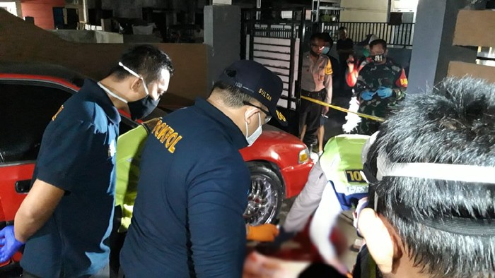 Pria di Gowa tewas bersimbah darah usai teriak seseorang masuk rumahnya