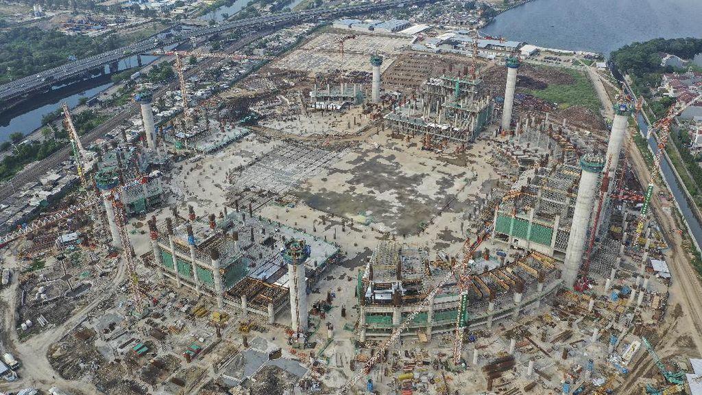 Progres Pembangunan Stadion BMW Capai 23,6 Persen