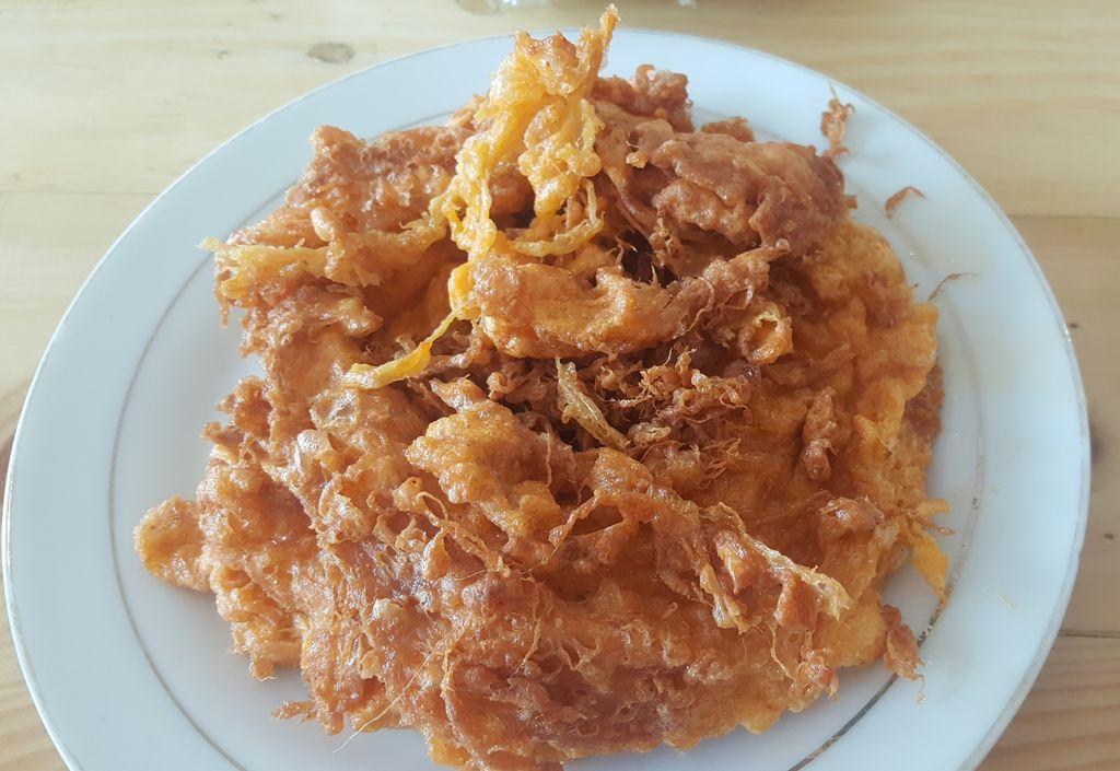 Telur Dadar Keriting ala Kedai Nasi Kapau