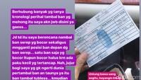 Viral Tambal Ban Rp 600 Ribu, Bengkel: Memang Segitu Harganya