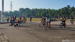 Marak Goweser Abaikan Protokol Kesehatan di Alun-alun Jombang