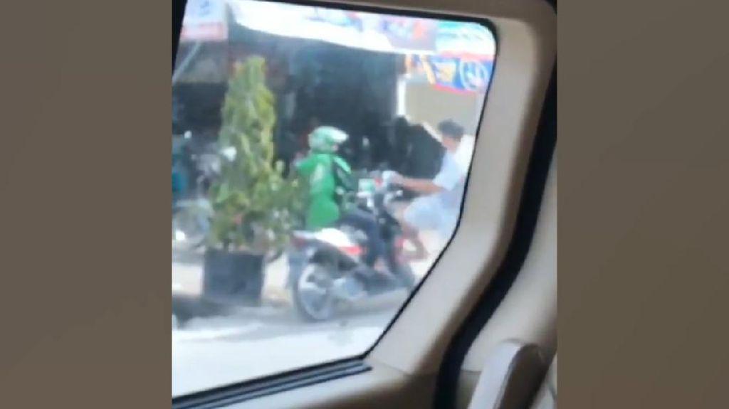 Video Driver Ojol Ditendang di Pekanbaru, Pelaku Sudah Ditangkap