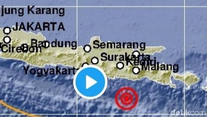Gempa 5.3 M Landa Blitar