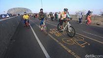 Takut Ditabrak Saat Hari Kerja, Banyak Pesepeda Cuma Gowes Akhir Pekan