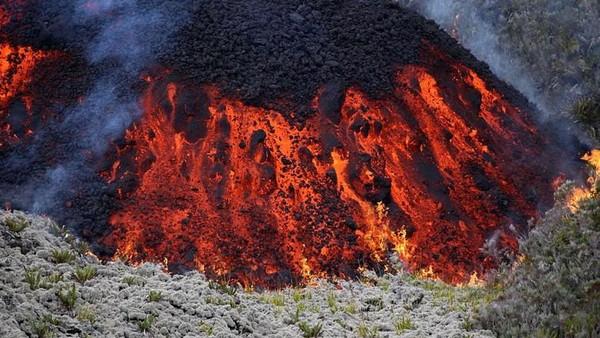 Penelitian yang dilakukan para ahli itu masih terus berlangsung. Beberapa faktor alam lain yang diduga mempengaruhi antara lain perubahan suhu air laut hingga keberadaan gunung berapi Piton de la Fournaise di pulau Reunion. (AFP)