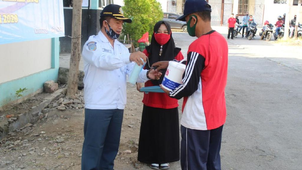 Gelar Kegiatan Padat Karya di Rembang, Kemenhub Libatkan Warga