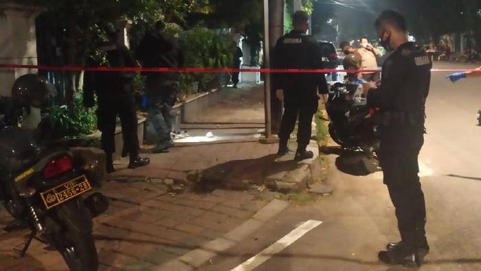 Ledakan di Menteng (Foto: Luqman/detikcom)