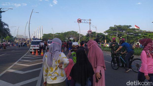 Masih ada anak-anak di CFD Bekasi