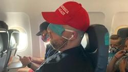 Viral di Twitter, Cara Penumpang Ini Pakai Masker Jangan Ditiru!