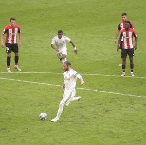 Video Injakan dan Penalti Sergio Ramos di Kemenangan Real Madrid