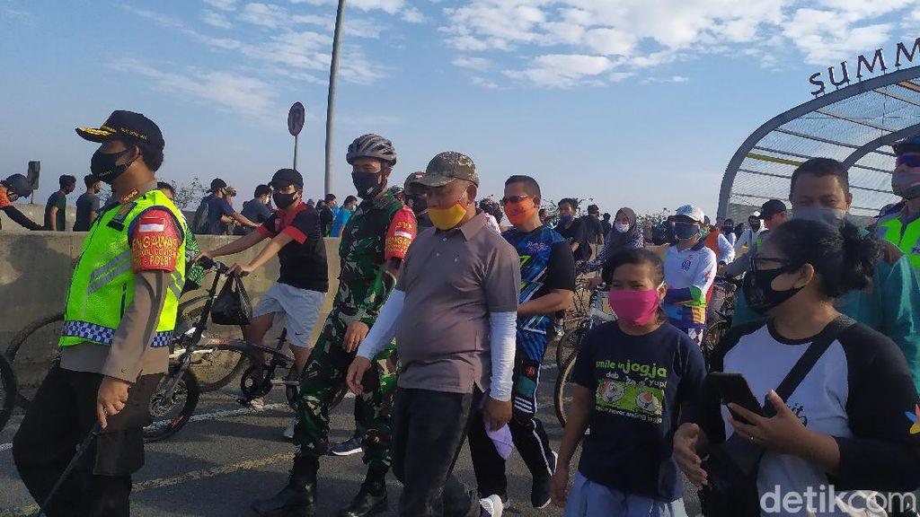 Pantau CFD, Wali Kota Bekasi: Warga Paham Protokol Kesehatan, Tak Ada Kesulitan