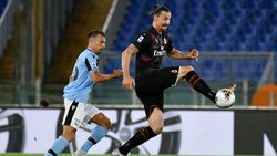 Lazio Vs Milan: Dahsyatnya Auman Zlatan
