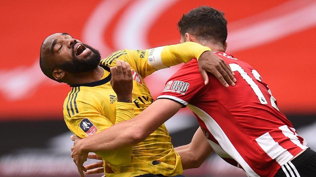 Arsenal Masih Abu-abu soal Masa Depan Lacazette