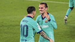 Cieee... Griezmann dan Messi Pelukan Lagi