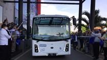 TransJ Uji Coba 2 Unit Bus Listrik Rute Blok M-Balai Kota Selama 3 Bulan