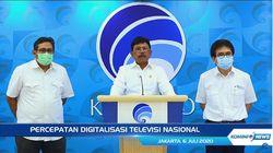 Telat Implementasi, Pemerintah Kebut Digitalisasi TV Nasional