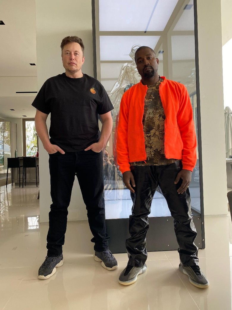 Elon Musk dukung Kanye West jadi Presiden Amerika Serikat.