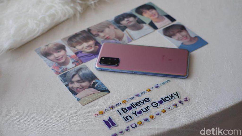 Galaxy S20+ BTS Edition Dijual Rp 17,5 Juta, Apa Istimewanya?