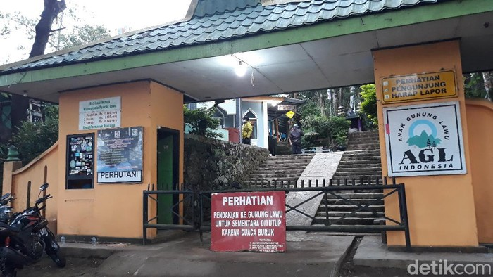 Ilustrasi Jalur Pendakian Cemoro Kandang