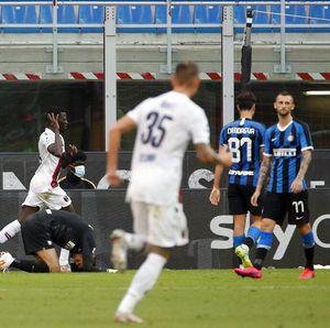 Inter Vs Bologna: Diwarnai 2 Kartu Merah, Nerazzurri Kalah di Kandang
