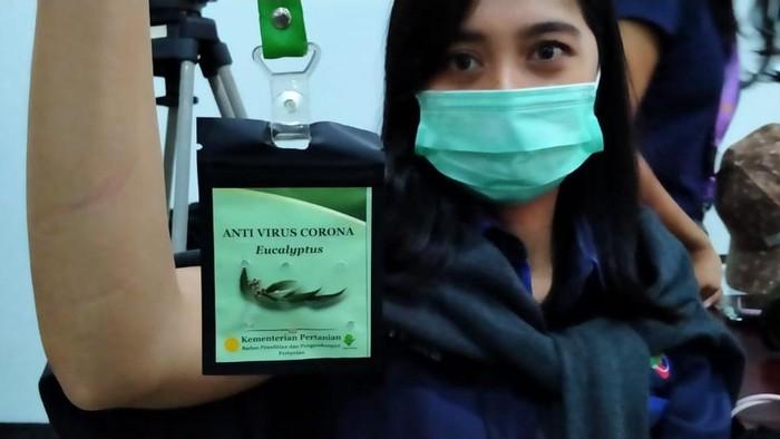kalung eucalyptus, kalung antivirus Corona