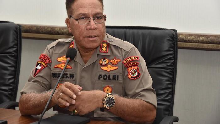 Kapolda Papua, Irjen Paulus Waterpauw.