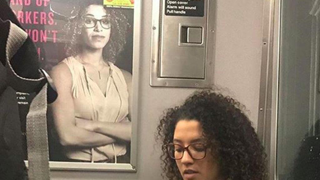 Kocak! 10 Foto Orang yang Kembar Sama Model Iklan di Subway