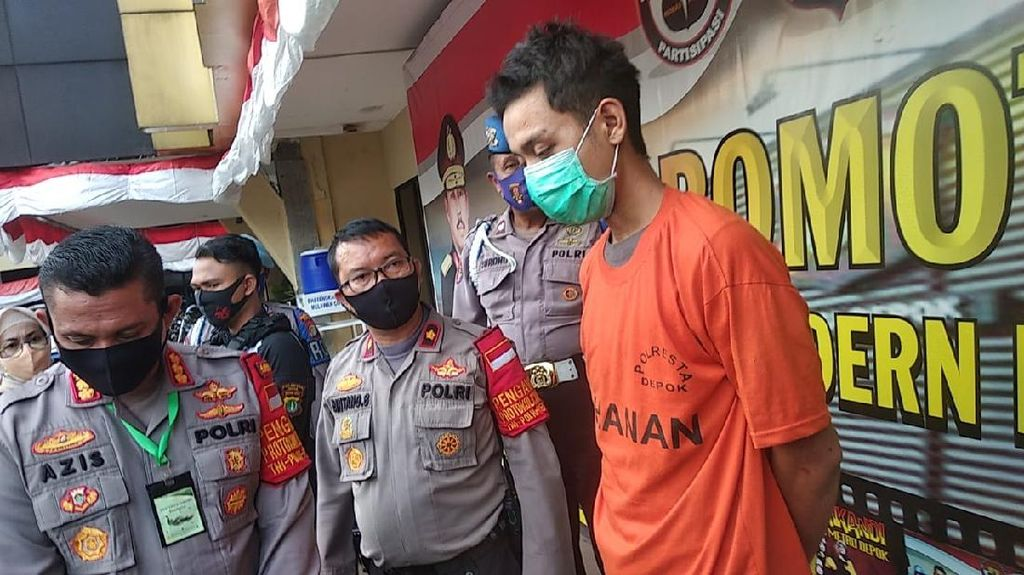 Kena PHK-Terlilit Utang, Alasan Pria di Depok Rampok Sopir Taksi Online