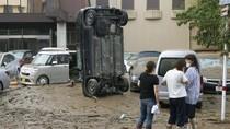 Kerusakan Akibat Banjir Jepang