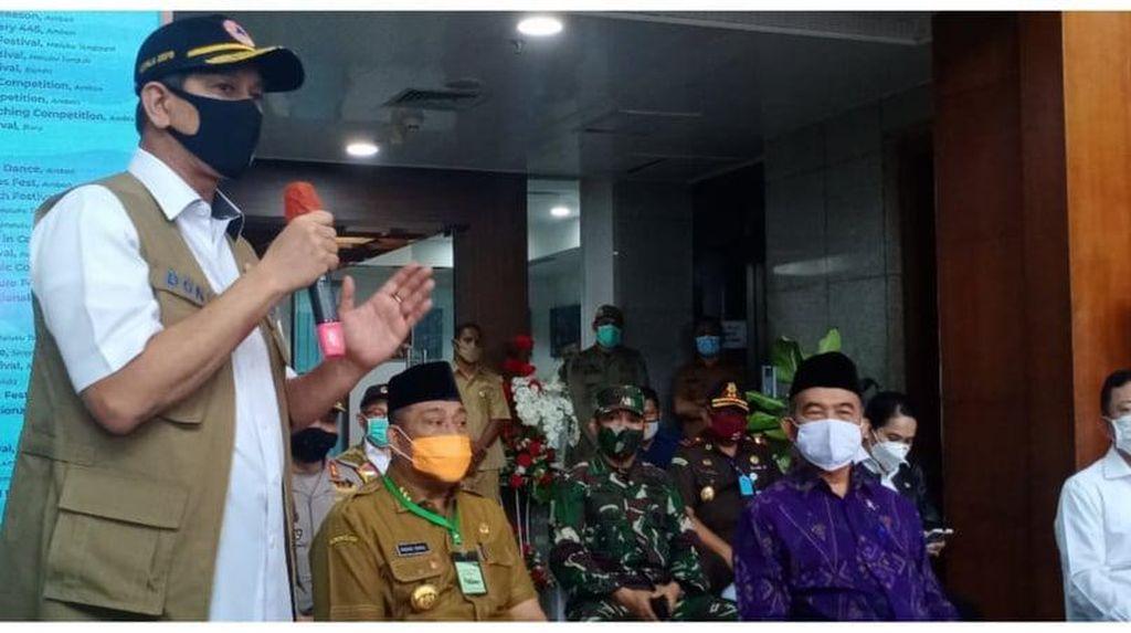 Serap Masukan dan Saran, Gugus Tugas COVID-19 Datangi Kantor Gubernur Maluku