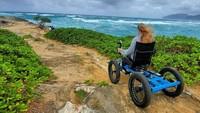 Begini Kursi Roda Off-Road untuk Penyandang Disabilitas