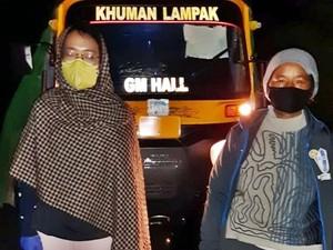 Wanita Tempuh Perjalanan 8 Jam Demi Antar Penumpang Pejuang Corona Pulang