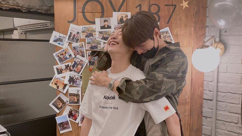 Lee Min Ho Peluk Woo Do Hwan Sebelum Wamil, Intip Lagi Momen Bromance Mereka