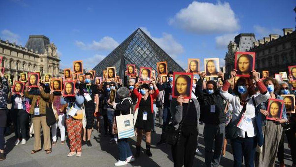 Museum Terpopuler Sedunia Dibuka Lagi, Tak Ada Kerumunan