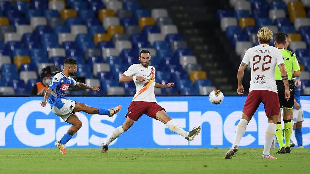 Napoli Vs Roma: Partenopei Menang 2-1 atas Serigala Ibu Kota