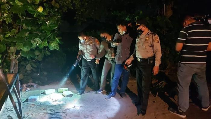 Penemuan tengkorak manusia di Kuta Utara, Badung, Bali, Sabtu (4/7/2020).