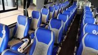 Physical Distancing di Bus Buatan Jawa Tengah