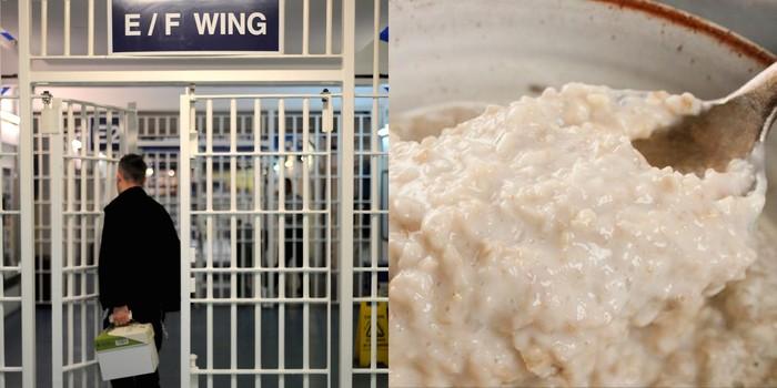 Sarapan Bubur di Penjara Inggris