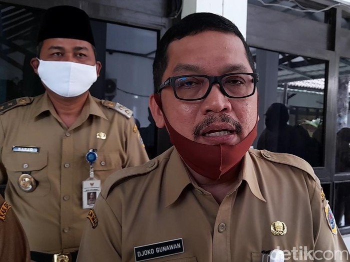 Sekretaris Daerah Brebes, Djoko Gunawan, Senin (6/7/2020).
