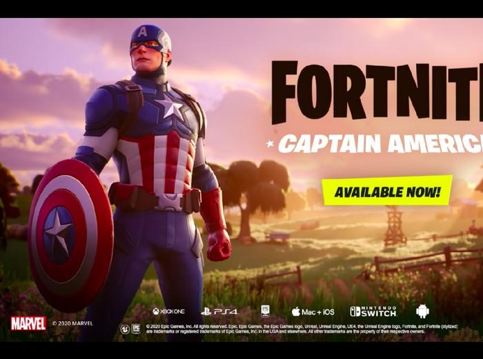 skin Captain America