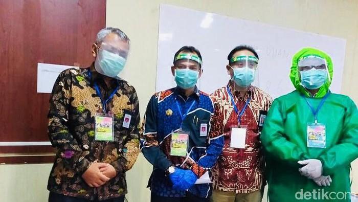 Suasana UTBK di UPN Veteran Yogyakarta